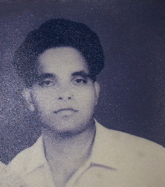 My father - A photo taken soon after his marriage.